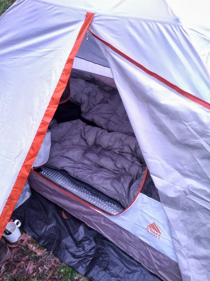 First high quality down sleeping bag!