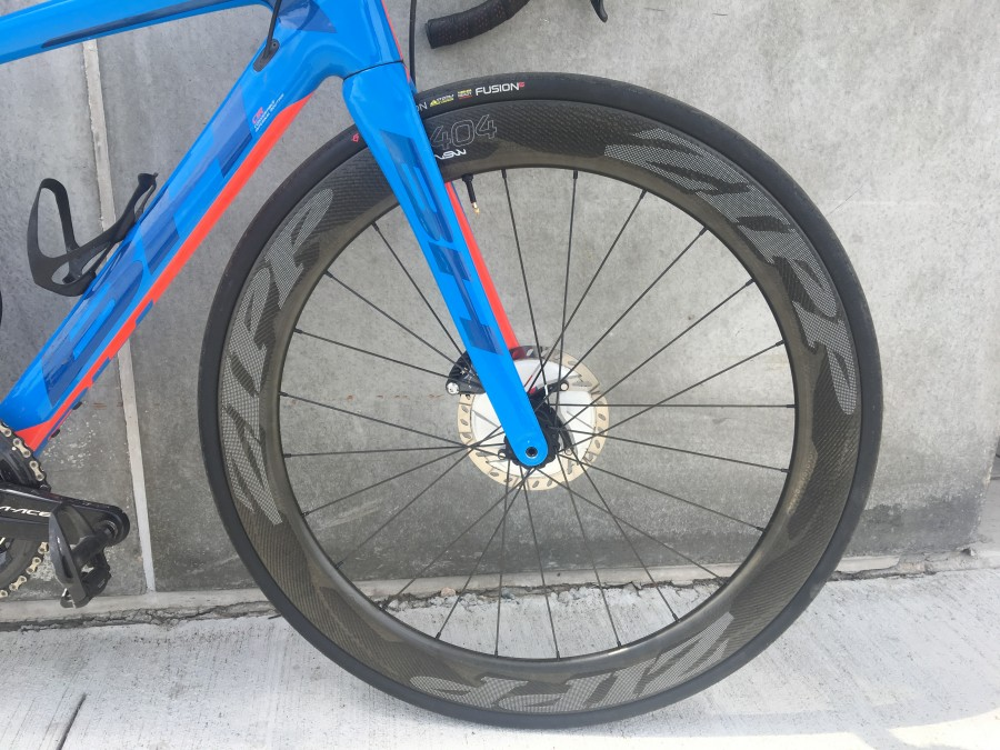Front Wheel Mounted
