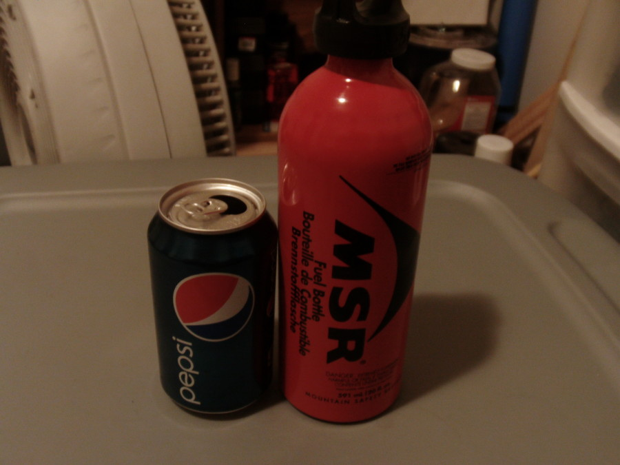 Size comparison for 20oz bottle...
