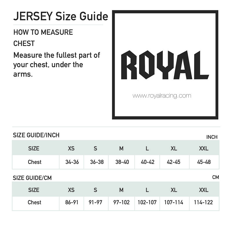 Jersey Size Guide