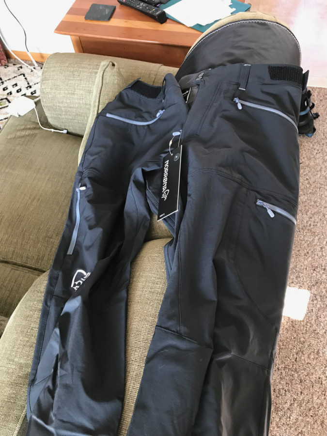 Multipurpose Mountain softshell pant
