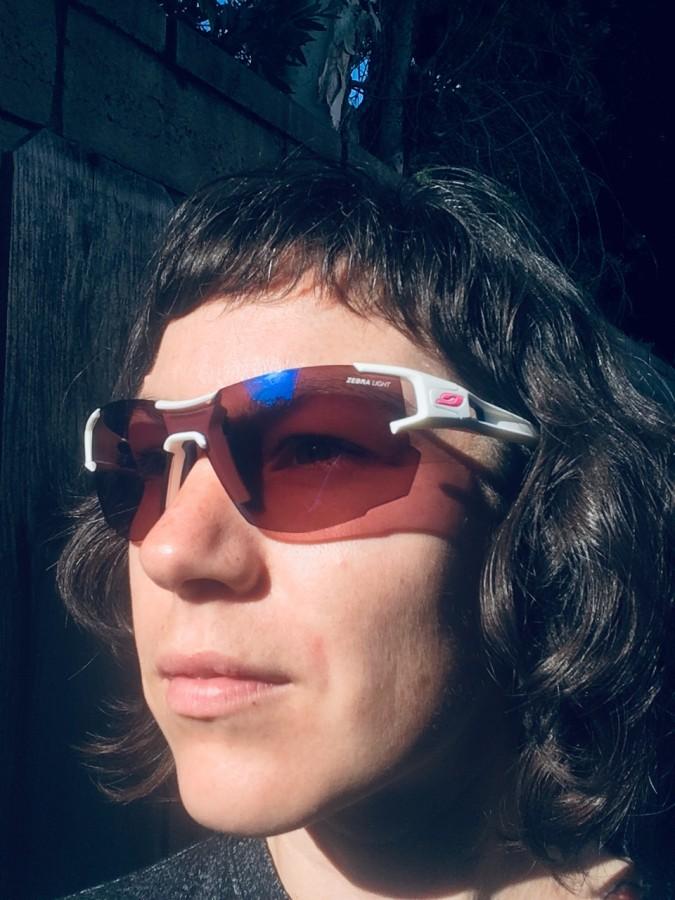 Julbo Aero Sunglasses /& Cooling Towel Bundle