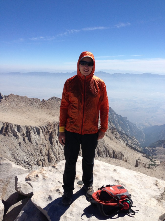 Top of Mount Whitney Aug 2nd
