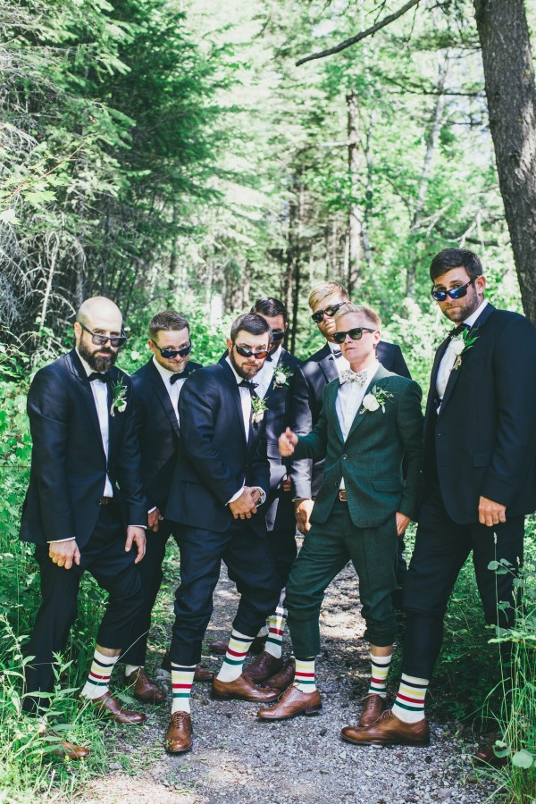 The Coolest Groomsmen