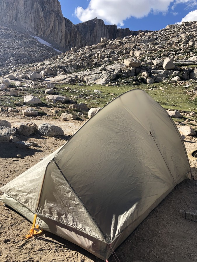 Great Lightweight backpacking tent