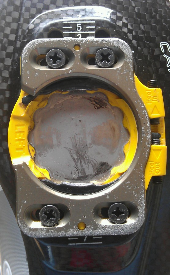 carbon sole protector plate