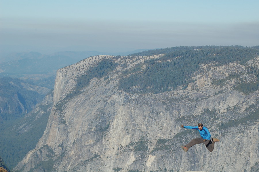 Ollie Kickflip on Half Dome